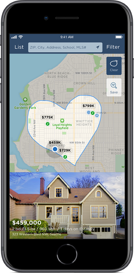 Get our award-winning real estate app for iPhone and iPad