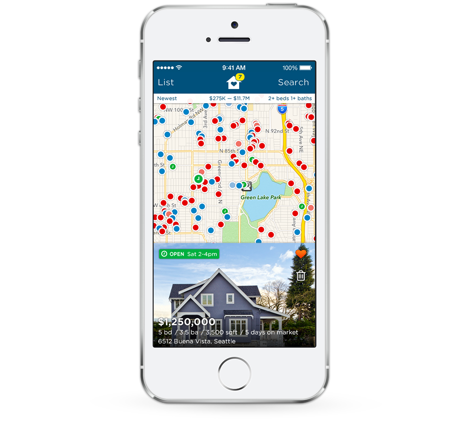 Search for a new home with Estately's app for the iPhone and iPod touch